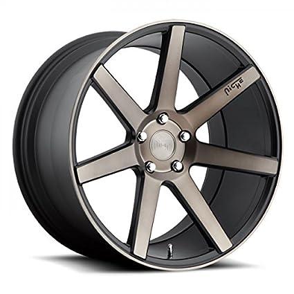 Niche Road Wheels >> Amazon Com Niche Road Wheels 20x10 5 Verona 5x112 Mb 27 66 6 Hub