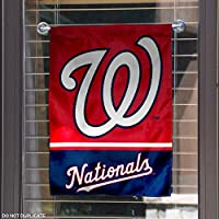 Washington Nationals Double Sided Garden Flag
