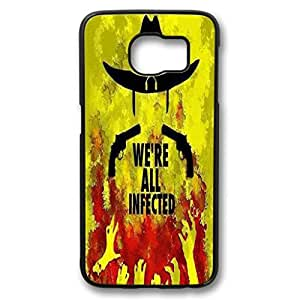 S6 Case,Samsung Galaxy S6 custome fashion Design Ultra Slim PC black Case for Samsung Galaxy S6,We're All Infected