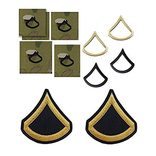 - US Army Private First Class Rank Bundle