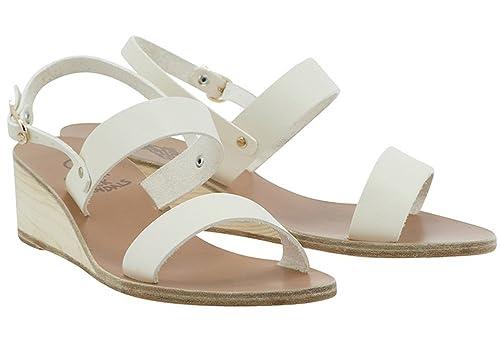 cb77464045b Ancient Greek Sandals Clio Off-White Wedge Sandals (39)