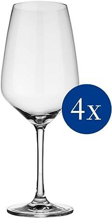 Juego de vasos de vino rojo de cristal con diseño atemporal para cada día u ocasión especial, idea o