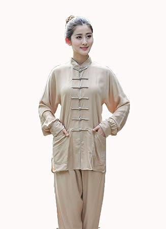 llh Unisex Tai Chi Traje Chino Tradicional Qi Gong Artes ...