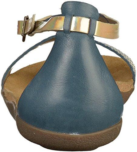 609210 50 Sandale Kickers Femmes Marine R6q5td5w