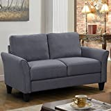 Harper&Bright Designs Living Room Furniture Love Seat Sofa Double Seat Sofa (Loveseat Chair)