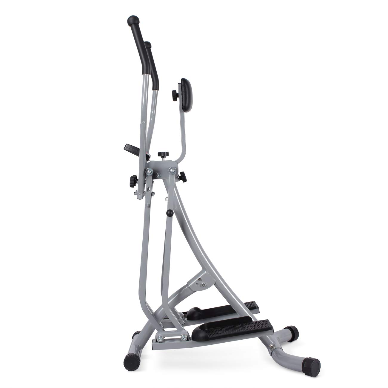Akonza Air Walker Glider Stride Elliptical Trainer Fitness Exercise Step Machine Workout Equipment w/Computer Monitor by Akonza (Image #2)