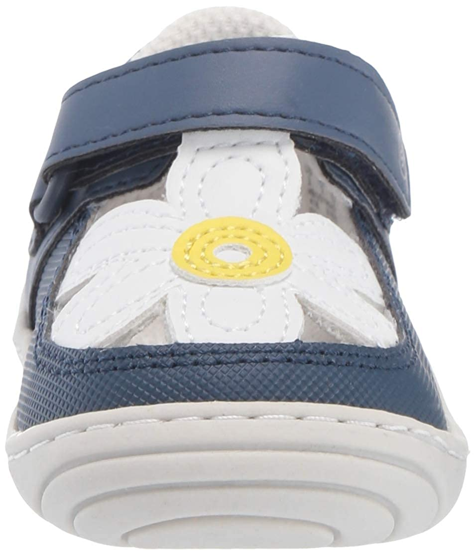 Stride Rite Kids Daisy Baby//Toddler Girls Flower T-Strap Sneaker