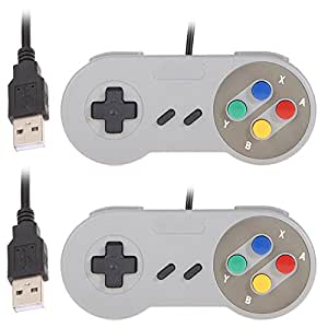 2 x SNES Compatible Controllers (not genuine) - Work with Retropie and your PC