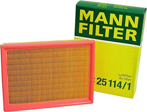 Mann-Filter C 25 114/1 Air Filter (Pack of 3) by Mann