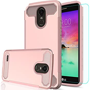 LG Stylo 3 Phone Case,LG Stylo 3 Plus Case,LG Stylus 3 case with HD Screen Protector,AnoKe[Prism Series]Heavy Duty Dual Layer Protective Hybrid Armor ...