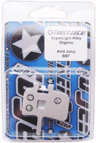 Superlight Alloy Organic Semi-Metallic brake pads All Avid Juicy Models Juicy Seven, 7, 5, 3, 3.5, Juicy Carbon, Juicy Ultimate BBDB, BB7, BB7 Road Promax DSK905, 907