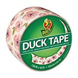Duck Brand Printed Duct Tape, Vintage Floral, 1.88 Inches x 10 Yards, Single Roll (285310)