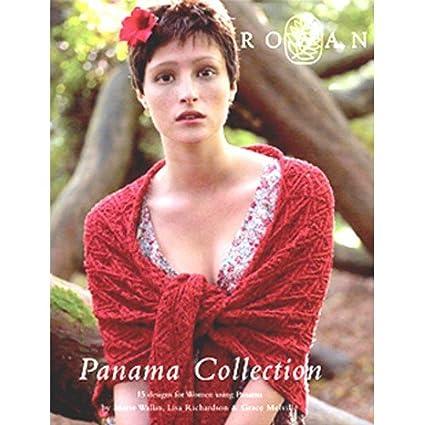 Amazon Rowan Panama Collection Knitting Pattern Book
