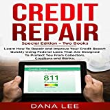 Discover how to delete all negative items from your credit report! Real dispute letters and templates included in this special edition of Credit Repair. Anyone can improve his or her credit using the consumer laws set up for consumers to prot...