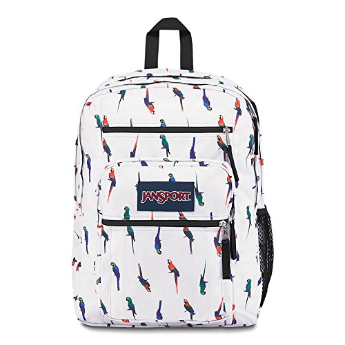 JanSport Big Student Backpack - Macaws - Oversized