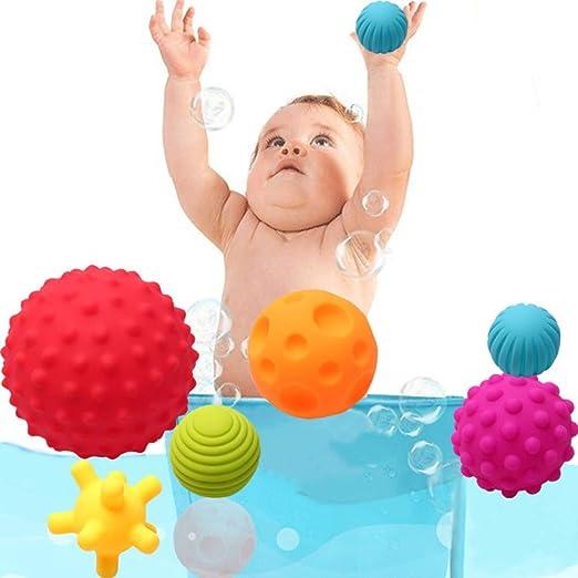 CawBing - Pelota de baño para bebé, Spray de Agua de Silicona no ...