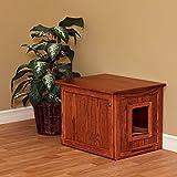 corner cat litter box furniture. Wooden Hidden Furniture Cat Litter Box Corner L