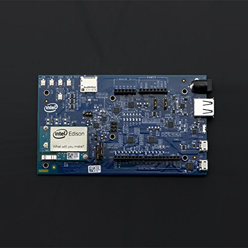 500MHz Low-Power 22-Nanometer Dual-Core Dual-Threaded Intel ® Atom Processor, Integrated Wi-Fi And Bluetooth Intel Edison Kit Arduino Development (Integrated Atom Processor)