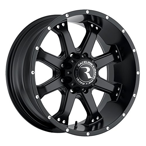 Raceline Assault Black (17x9) -12 (8x6.5) for sale  Delivered anywhere in USA