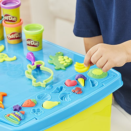 Play Doh Play N Store Table Import It All