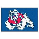 FANMATS NCAA Fresno State Bulldogs Nylon Face Starter Rug