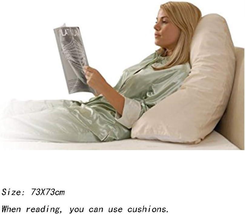 BXWQPP Gris Coton Coussin de Maternit/é de Grossesse V Forme Pratique Maternity Pillow Doux Confortable Oreiller Corps Grande Taille Coussin de Grossesse et dallaitement,A