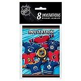NHL Hockey Invitations, 8ct