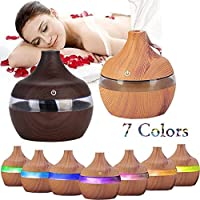 Erholi New Round Shape USB Humidifier Portable Air Purifier