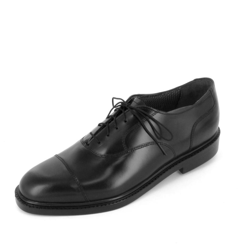 Black Leather Air-Lite Mens Fairfax Mens Dress Shoes 14 E
