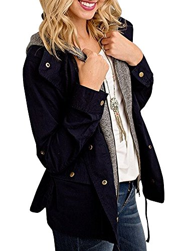 Girls Terry Hooded Jacket - 8