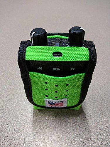 C&U Nylon Carry Case for Motorola Minitor Pagers (Minitor VI Green)