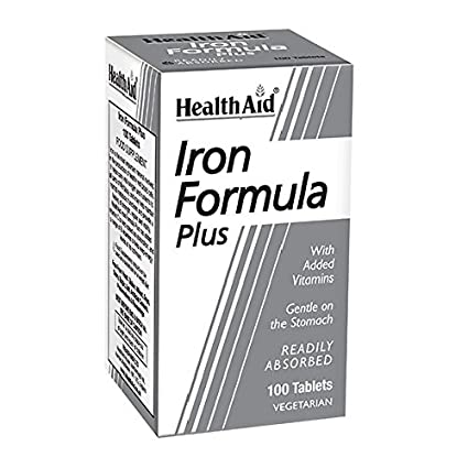 HEALTH AID - IRON FORMULA 100COMP HEALTH