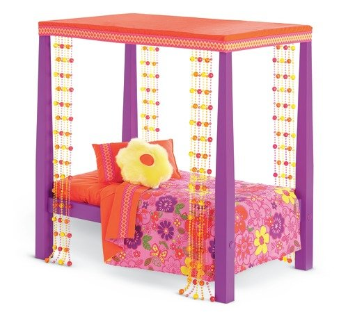 American Girl Julie's Bed and Bedding