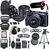 Canon EOS M6 Mirrorless Digital Camera with 15-45mm Lens Kit...