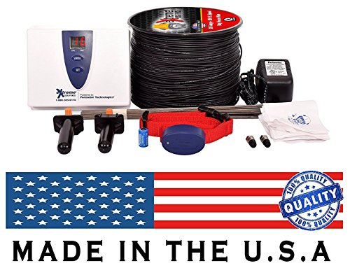 Electric Dog Fence Premium Underground Dog Fence System for Easy Setup and Superior Longevity and Continued Reliable Pet Safety - 1 Dog | 500 Feet Standard Dog Fence (Radio Fence Wire)