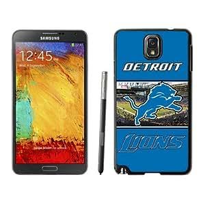 Samsung Note 3 Case,Detroit Lions 29 Black For Samsung Note 3 Case WANGJING JINDA