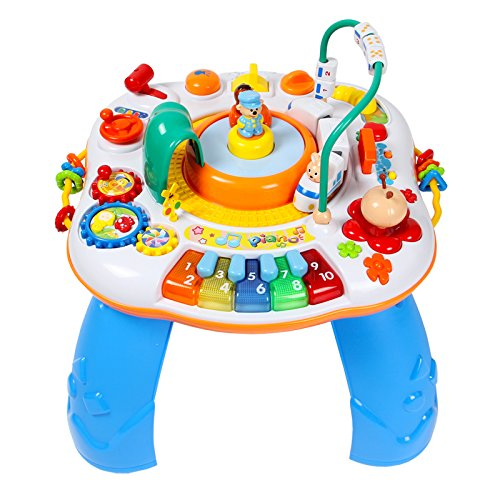 Buy GoAppuGo Multifunctional Activity Table With Train Music And Piano For Kids Multicolour Online At Low Prices In India