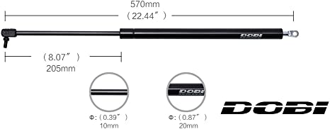 2 Fits Ford Explorer 91 to 03 Fits Mercury Mountaineer 97-01 Fits Mazda Navajo 91 To 94 Liftgate Lift Supports Lift Supports Depot Qty