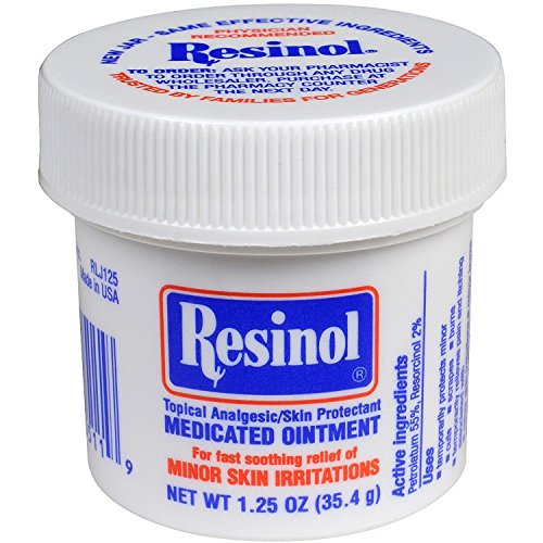 Resinol Medicated Ointment 1.25 oz (Pack of 5)