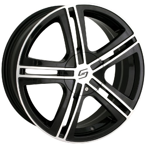 Sacchi S62 262 Black Wheel with Machined - Toyota Celica Alloy Wheels Shopping Results