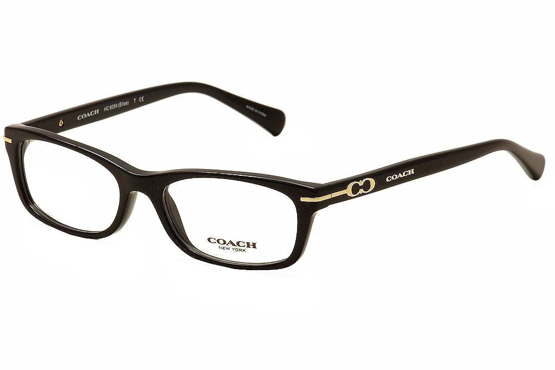 Amazon.com: Coach Women\'s HC6054 Eyeglasses Black 50mm: Clothing