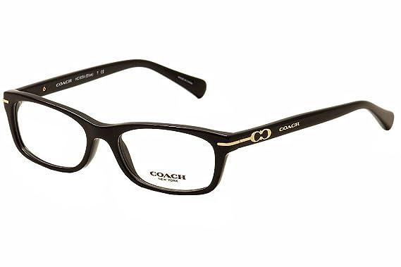 44dfb6cffe4 Amazon.com  Coach Women s HC6054 Eyeglasses Black 50mm  Clothing