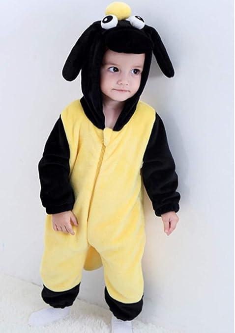 Doladola Monos para ni/ñas y beb/és Mameluco con Capucha Animal Ropa para el hogar