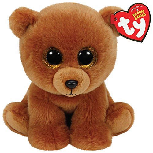 Brown Plush Bear (Ty Classic Brownie The Brown Bear Plush)