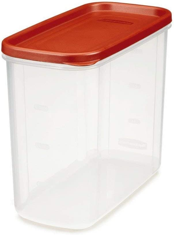 Rubbermaid 071691688037 Dry Food Storage 16 Cup Clear Base, 2 Pack, Everyday