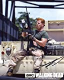 Michael Cudlitz Signed / Autographed 8x10 glossy Photo From the Walking Dead as Sgt. Abraham Ford. Includes Fanexpo Certificate of Authenticity and Proof. Entertainment Autograph Original
