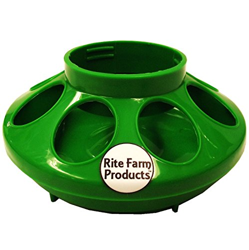 GREEN-RITE-FARM-PRODUCTS-FEEDER-BASE-FOR-POLYGLASS-QUART-JAR-POULTRY-CHICKEN