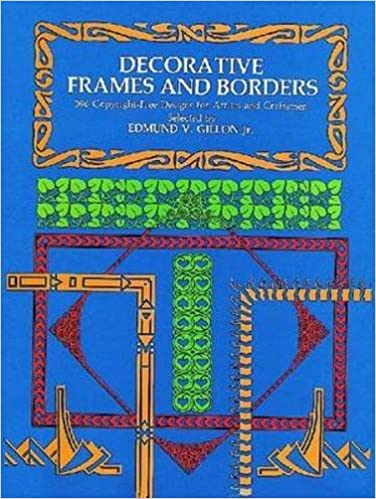 amazon decorative frames and borders dover pictorial archive