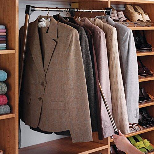 Pull Down Closet Rod Heavy Duty   Closet Storage And Organization Systems    Amazon.com