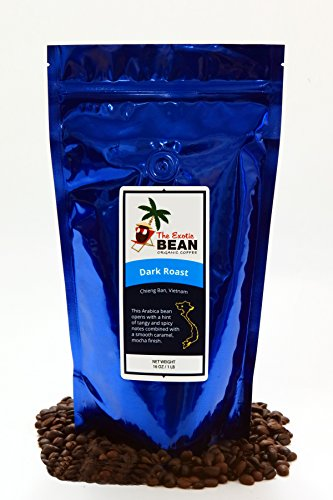 Rare Vietnam Organic Dark Roast, Organic Whole Bean Arabica Coffee 16oz (Rare Coffee Beans compare prices)